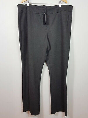 [ BASQUE ] Womens Charcoal grey Ponte Pants NEW + TAGS | Size AU 22 W or US 18
