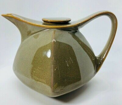 Retroneu Mission Retro Mid-Century Modern Style Tea Pot Sage Brush Green