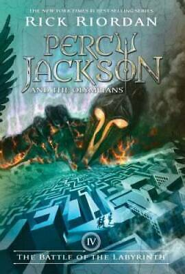 The Battle of the Labyrinth (Percy Jackson and the Olympians, Book 4) - GOOD