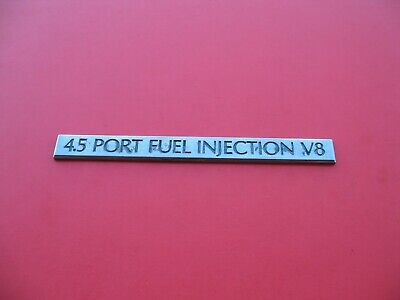 CADILLAC 4.9 PORT FUEL INJECTION V8 TRUNK EMBLEM