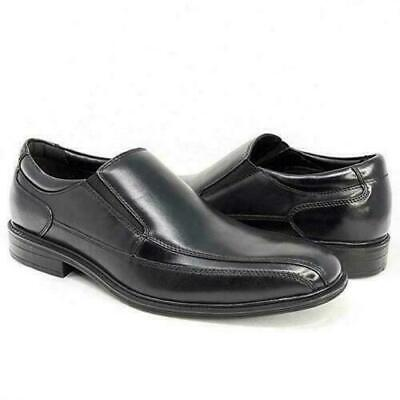 New Kenneth Cole Ny Men's Slip On Shoe Black Zapato Leather Dress Shoes
