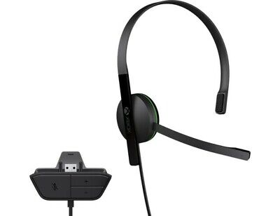 Microsoft Xbox One Official Wired Chat Headset - Black