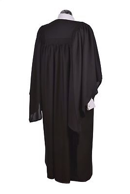 """Large Fully Fluted Bachelor BA Graduation Gown & Fitted Mortarboard Hat 6' 2"""" +"""