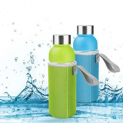 Sport water bottle cover neoprene insulated sleeve bag case pouch GX