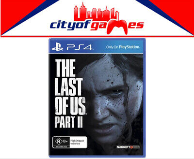 The Last of Us Part II PS4 Game Brand New Pre Order