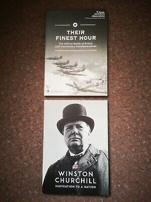 London Mint Winston Churchill Inspiration and finest hour both complete sets.