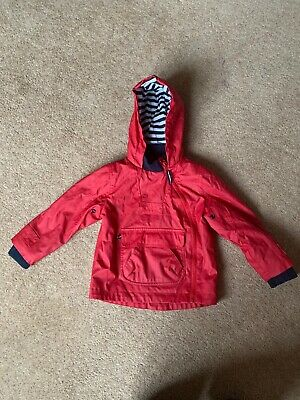 Marks And Spencer Red Raincoat For Boy Or Girl 18 Months To 2 Years