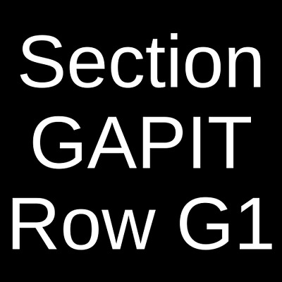 4 Tickets My Chemical Romance 10/6/20 Oakland Arena Oakland, CA
