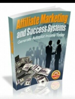 Affiliate marketing success systems eBook PDF with Full Master Resell Rights