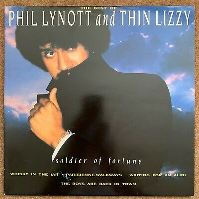 The Best Of Phil Lynott And Thin Lizzy Soldier Of Fortune LP [ Vinyl Is NM  ]
