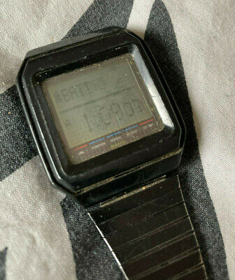 Extremely Rare Aegis Touch Screen Watch Casio VDB-100 1000 Vintage LCD Digital