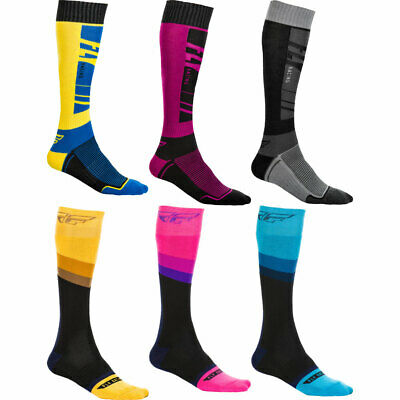 Fly Racing MX Pro Socks Thin MX Off-road All Colors /& Sizes