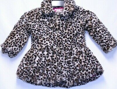 *NEW* Juicy Couture Girls' Faux Fur Jacket