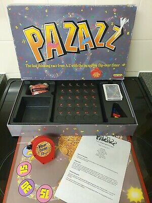 Pazazz Board Game Spears Games 1992