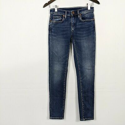 Blank NYC Women's The Reade Cropped Jeans Vendetta Wash Size 25 EUC