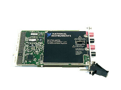 National Instruments NI PXI-4070 Digital Multimeter Card 6-1/2 Digit DMM