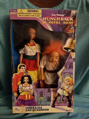 RARE VINTAGE 1995 HINSTAR HUNCHBACK OF NOTRE DAME CLAUDE FROLLO DOLL NEW !