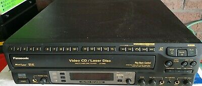 Panasonic LX-V880EN Laser disc LD VCD karaoke KTV player MADE IN JAPAN Rare