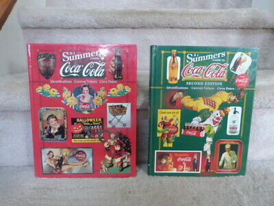 B. J. Summers Reference Book Guide to  Coca-Cola  1rst + 2nd Volumes EUC