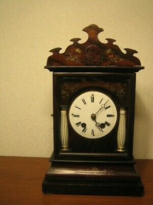 RARE  ANTIQUE  MANTEL  CUCKOO CLOCK   Alexander Fleig
