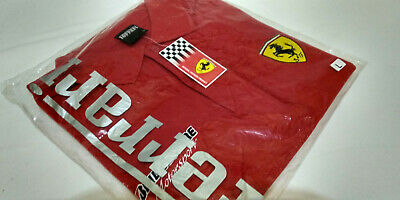 Formula 1 F1 Scuderia Ferrari Polo Bridgestone Size L Official Licensed Product