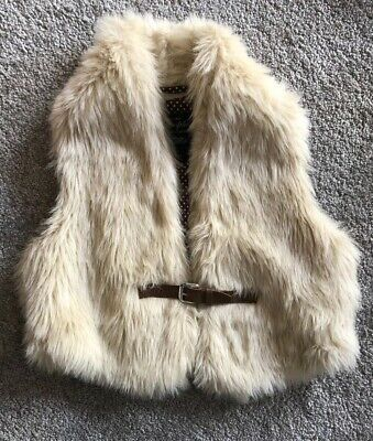 Atmosphere Girls Faux Fur Gilet Age 8yrs