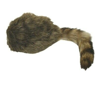 and other wild Westerners! Coonskin Trapper Cap for Davy Crockett Daniel Boone