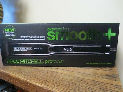 New! Paul Mitchell Protools express Ion Smooth+ Flat Iron 1.25'' (3400)