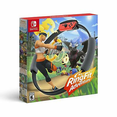 Ring Fit Adventure * Nintendo Switch * Standard Edition * 2019 2020 BRAND NEW