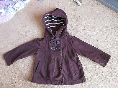Lovely Girls Gap Jacket Age 2 Years - With Removable Hood