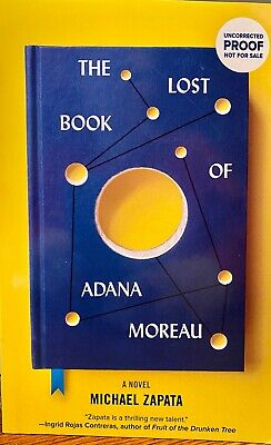 The Lost Book of Adana Moreau: A Novel SOFT cover ARC