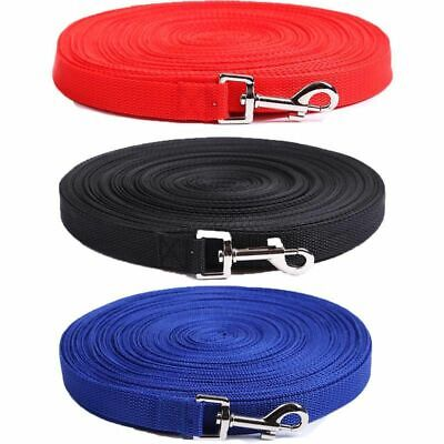 Extra Long Nylon Dog Pet Puppy Training Obedience Recall Lead Leash Tracking
