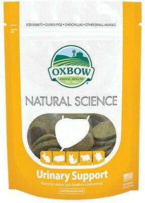 Oxbow - Naturel Science Urinaire Support - 60 Comprimés (120 G)