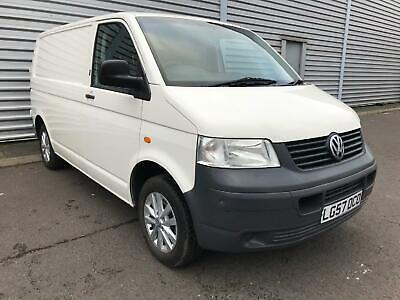 VOLKSWAGEN TRANSPORTER TDi 84 SWB T28 No Vat Camper Day Surf Van White Manual Di