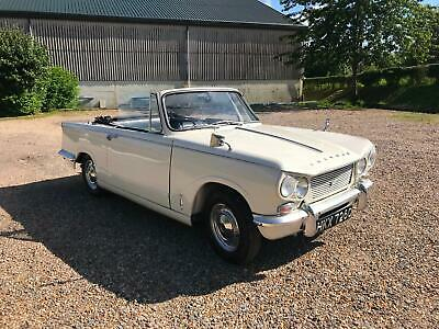 Triumph Vitesse 1600 Convertible 1965 - Matching Numbers Factory Convertible!