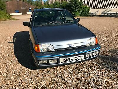 Ford Fiesta XR2i 1991 73k Stunning - Video
