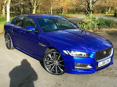 2016 66 Jaguar XE 2.0d R-Sport 180 BHP Manual Blue Diesel Long MOT FSH 16,000 M