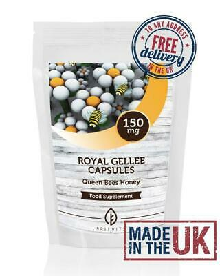 Bumble Bee Honey Royal Jelly Gellee 150mg Capsules BritVits Packets
