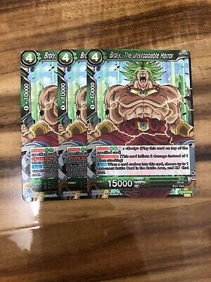 Promo Cards p2-7734 The Unstoppable Horror Non-Foil Version Broly
