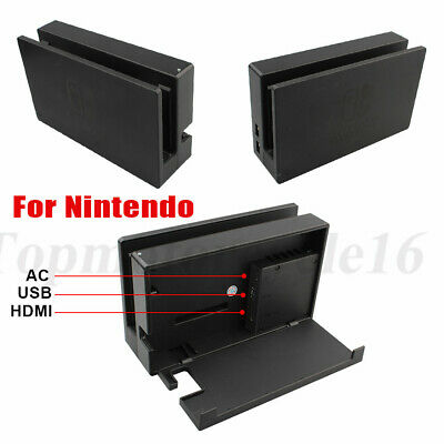 For Nintendo Switch Console Screen TV Dock Station ONLY - HAC-007 Black