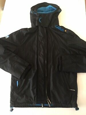 MEN'S SUPERDRY WINDCHEATER Hooded Jacket Coat Size Small