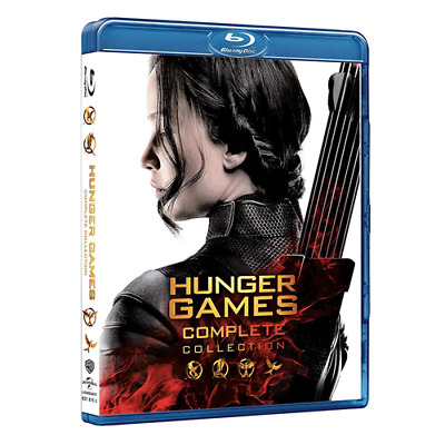 Box *** HUNGER GAMES - Complete Collection (4 Blu-ray) *** sigillato