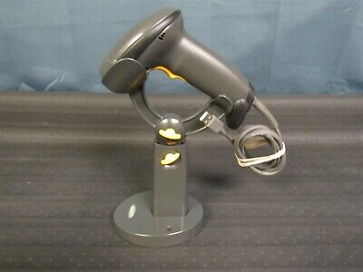 Motorola DS4208 Barcode Scanner DS4208-SR00007WR w/ USB Cable & Stand