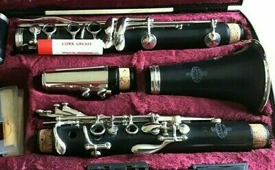 Beautiful Buffet Crampon Paris B12 Clarinet With Case In Excellent Condition
