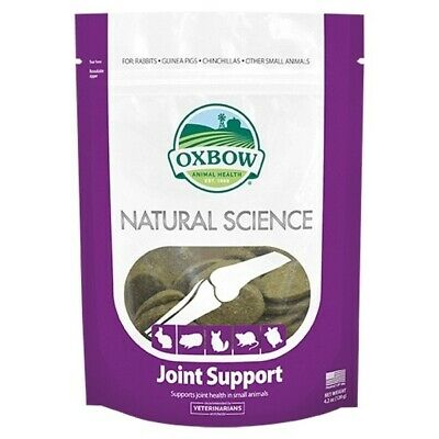 Oxbow - Naturel Science Joint Support - 60 Comprimés (120 G)