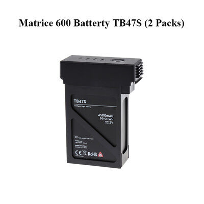 Genuine DJI Matrice 600 Series TB47S Intelligent Flight Battery 2PCS Included