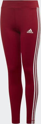 Girls Adidas Training Equipment 3-Stripes Leggings ED6281