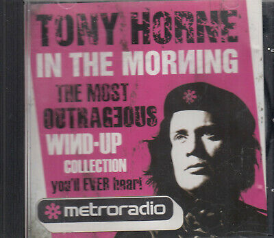 Tony Horne In The Morning Wind Up Collection CD Signed Metroradio Comedy