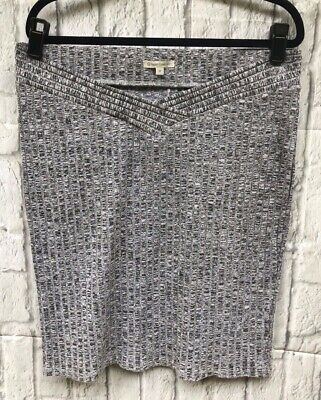 Target Maternity 12 Under The Bump Grey Marle Stretch Bodycon Skirt