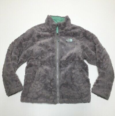 Youth Girls The North Face Reversible Coat Jacket Fur Quilted Large 14/16